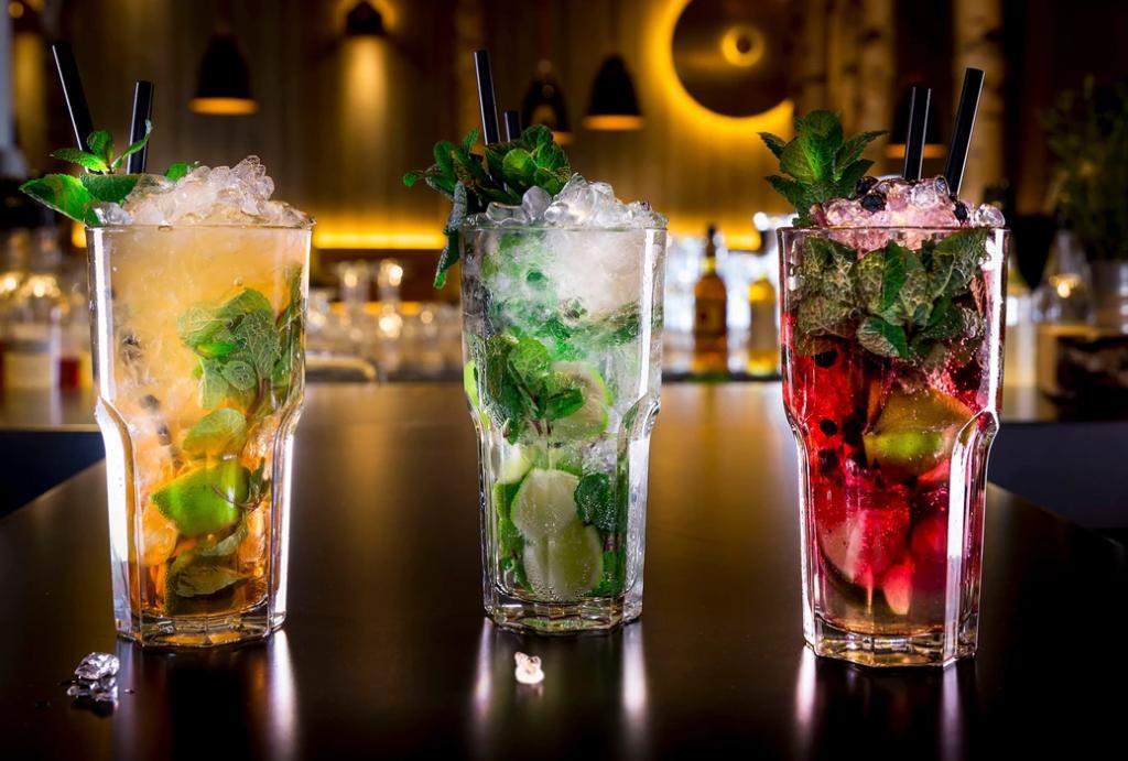 Dreierlei Cocktails